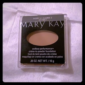 Mary Kay ivory 2 sheer mineral pressed powder